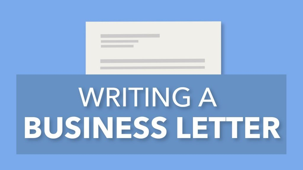 Good in The Business Letter