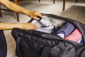 Learning How to Pack a Duffel Bag
